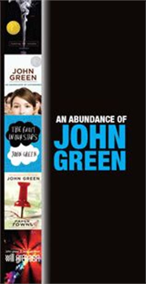 John Green Biography List of Works, Study Guides
